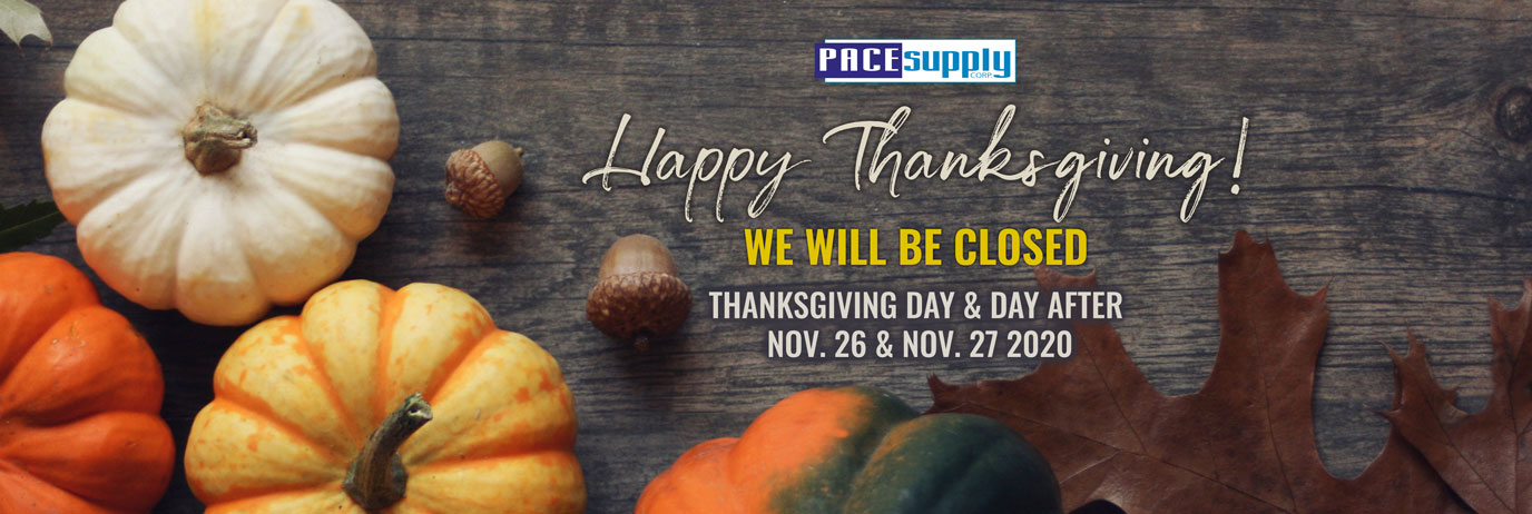 Closed for Thanksgiving Day & Day After 2020